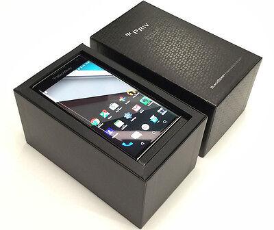 BlackBerry Priv STV100-2 Black (Factory Unlocked) GSM 4G LTE Android 18MP- Phone
