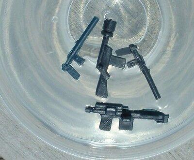 4 REPRO LOT 1977 Leia,Stormtrooper,Jawa Black Blaster Weapon Vintage Star Wars](Stormtrooper Weapons)
