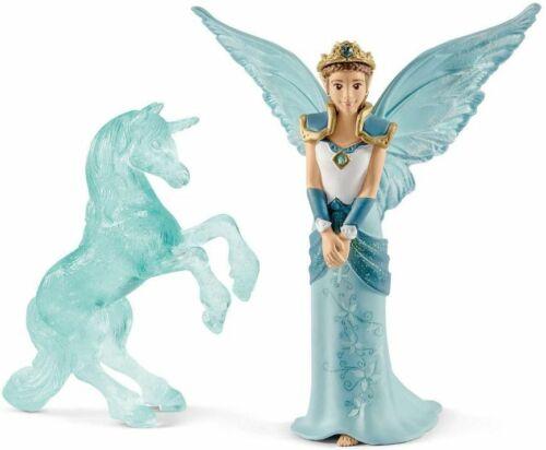 <>< Fairy Movie - Eyela with unicorn ice sculpture  Schleich 70587 Bayala