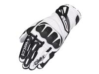 Held Short Race Men's Leather Motorcycle Gloves Size 7 (small)