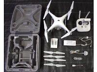 DJI Phantom 4 Drone & 3 DJI Polar Pro Filters