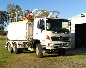 2010 Hino water truck Gatton Lockyer Valley Preview