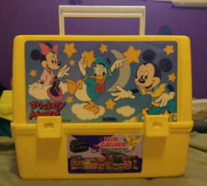 Vintage Mickey Mouse Thermos Brand Lunch Box