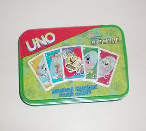 Spongebob Squarepants Lost in Time Uno Special Edition Card Game London Ontario image 2