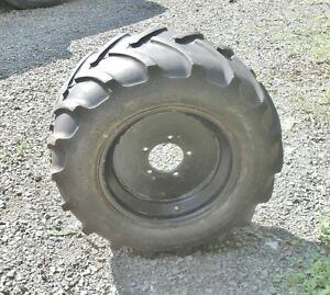 five like new heavy duty tires