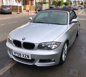 Spares or repair BMW 118I M SPORT CONVERTIBLE