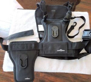 CAMERA HARNESS and SIDE HOLSTER SYSTEM: Cotton Carrier