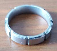 Crown Men's Titanium Carved & Brushed Wedding Band Ring