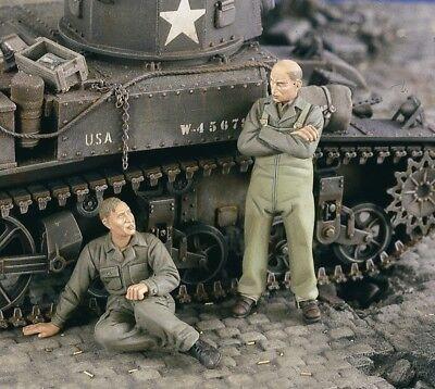 Verlinden 1:35 US Tankers Rest Stop WWII 2 FG 2455