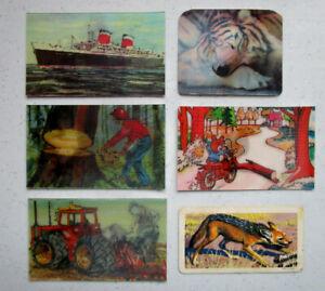 Lenticular 3D cards +++