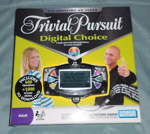 Trivial Pursuit Digital Choice Game - New