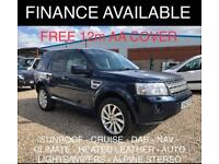 2013 Land Rover Freelander 2 2.2 SD4 HSE SUV 5dr Diesel Automatic 4X4 (185