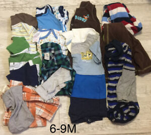 Baby boys clothes by the lot
