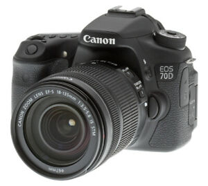 Canon 70d camera w/wo lenses