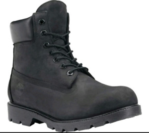 """Mens black 6"""" Timberland Boots"""