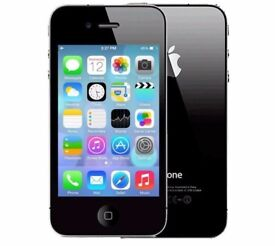 Iphone 4 16gb Black (Unlocked) Smartphone in good condition