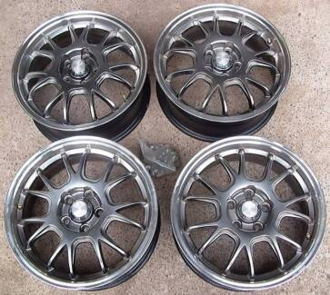 """Set of 16"""" Speedy Mag Wheels for Holden Cruze and nuts Bracken Ridge Brisbane North East Preview"""