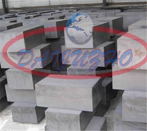 1PC Graphite Ingot Block High Purity 99.9% 100mm * 200mm * 10mm New