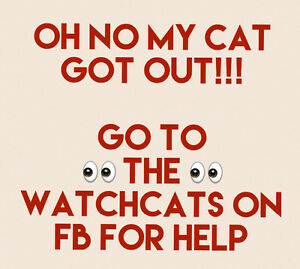 The Watchcats Lost and Found Sackville and Bedford and Area