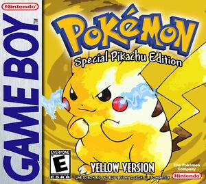 Pokemon Yellow - Bon état - Non négociable.