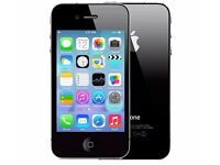 Iphone 4 8gb Black, White Unlocked in Good Working Condition