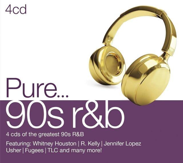 PURE...90S R&B 4 CD NEU - R. KELLY, TINA MOORE, CHRISTINA AGUILERA, USHER