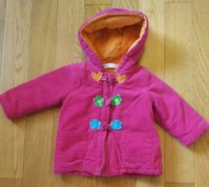 Baby Girl Winter Coat (Size 18 months) -great condition!