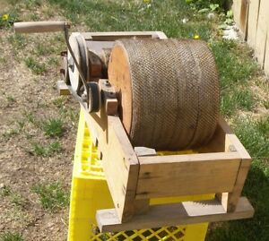 Vintage Wool Carder Manual Machine - Very Primitive Item