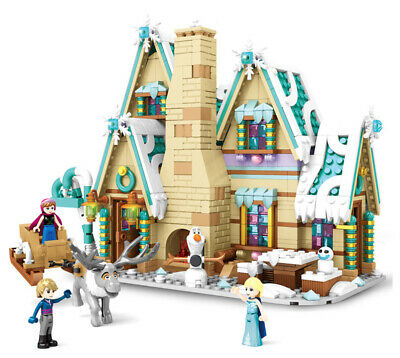 Frozen Ice & Snow Princess Essar Palace Building Blocks Bricks Figure Fairy Tale
