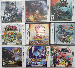 9 Nintendo 3DS/DS Games