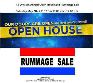 42 Division Open House and Rummage Sale