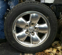 "dodge 20"" rims and tires set of 4"