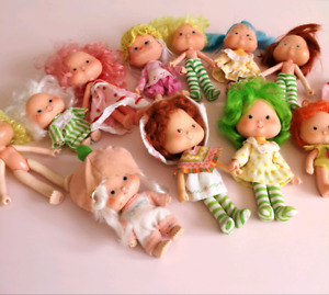 Vintage Strawberry Shortcake dolls
