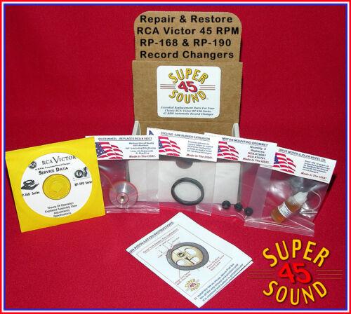RCA Victor 45-EY-2 Record Player Phonograph Repair Kit