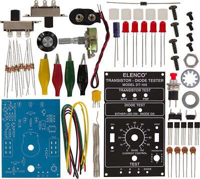 Elenco Dt-100k Diode Transistor Tester Diy Kit