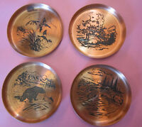 "Vintage ""Fantasy"" Copperware made in Canada SET of 4"