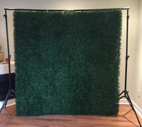 Boxwood wall 80 inches by 80 inches  $100