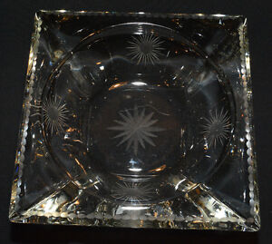 Crystal candy/coffee table dish Kitchener / Waterloo Kitchener Area image 1