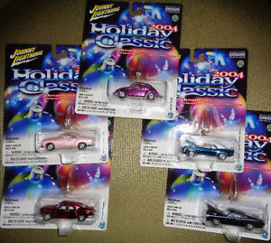 Holiday Classic Rods Ornaments Real Riders VW Beetle Ghia Tucker