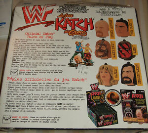 WWF - KATCH THE GAME -- Sealed in Box - Sable & Stone Cold heads Strathcona County Edmonton Area image 2