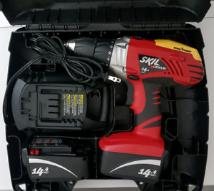 SKIL xDrive Model: 2587-B4 Drill/Driver  14.4V, in carry case.