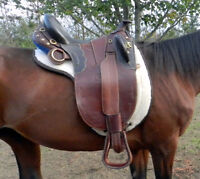 "16"" Aussie Saddle With Girth"