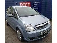 2009 (59 reg) Vauxhall Meriva 1.6i 16v Club 5dr MPV, £2,395 ono