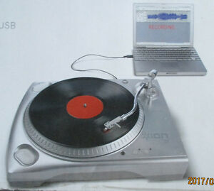 USB TURNTABLE - Digitize your Vinyl Collection