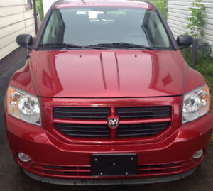 2008 RED DODGE CALIBER - $5000 AS IS OR $5500 CERTIFIED/E-TESTED