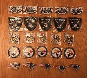 Nfl patches assorted