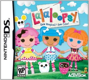 Nintendo game: Lalaloopsy DS Sew Magical! Sew Cute!