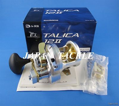 NEW Shimano TALICA 12 II 12II 2-Speed Fishing Reel **1~3 Days Delivery**