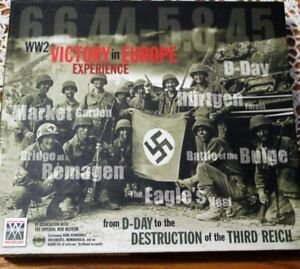 WW2 Victory in Europe Experience: From D-Day to the Destruction