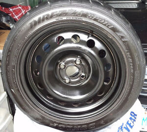 Sport Tires on Rims - Set of 4